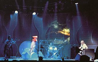 Genesis 1973-4 with white M400