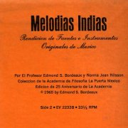 Edmond S. Bordeaux, 'Indian Melodies' (Spanish sticker)
