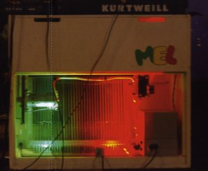 Woolly's 'Mel', from 'Legacy'. Note amusing re-badged Kurzweil on top'